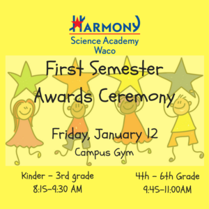 First Semester Awards Ceremony