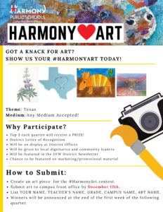 Harmony Art poster contest rules